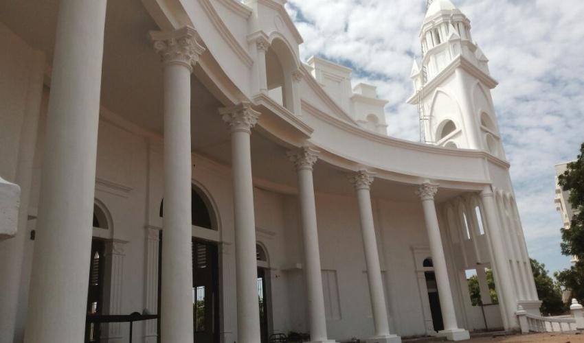 St.Adaikala annai church – Tanjavour